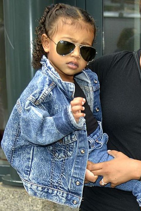 Steal Her Style: North West. This MINI is already quite the influential fashion force!