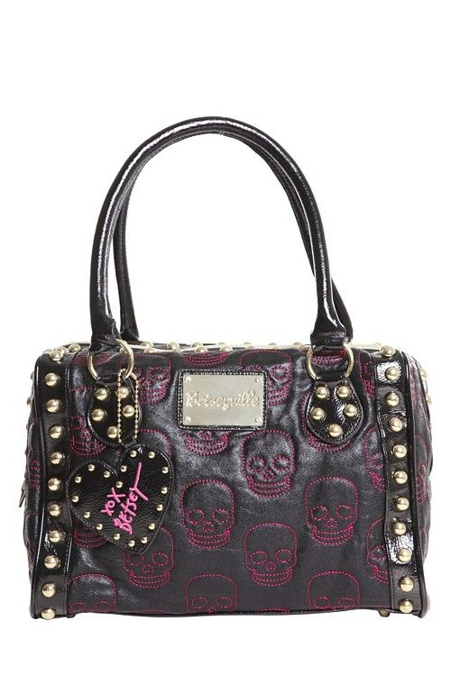 Betsey Johnson skull bag. They just keep getting better!!