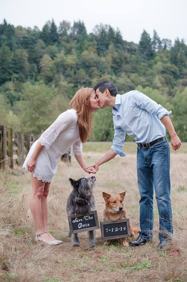 "Adorable ""Save the Date"" photo"