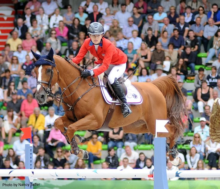 Get to know Lucy Davis, who was just named to this year's U.S. Olympic show jumping team.