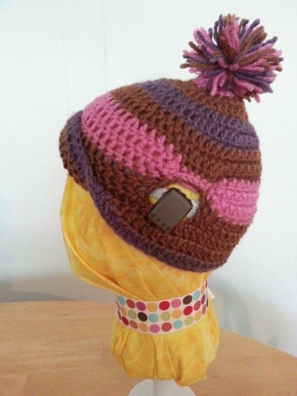Knit hats for BAHAs Www.forwerd.net