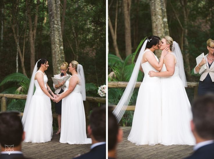 Hayley + Lara | Same sex boomerang farm wedding | White Fox Studios