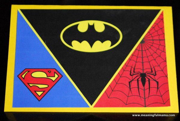 Superhero Invitations – Printable Included