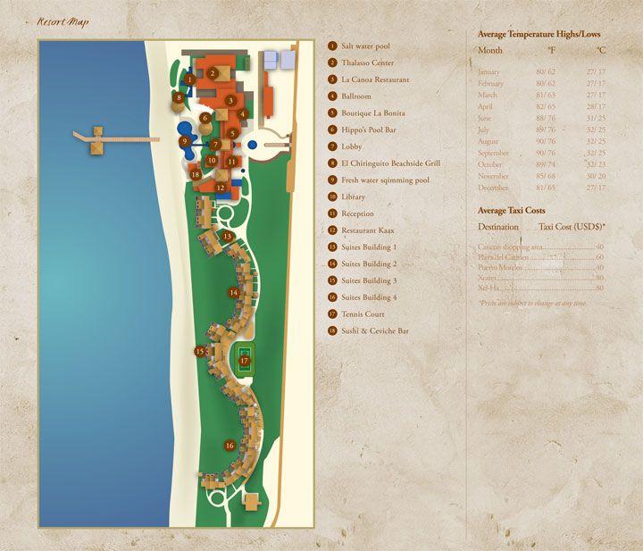 zotry paraiso de la bonita resort map unlimited vacation club
