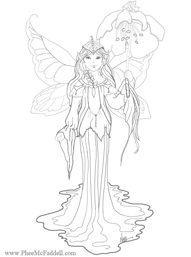 intricate fairy colouring pages coloring pagesfairy coloring pages prints and colors