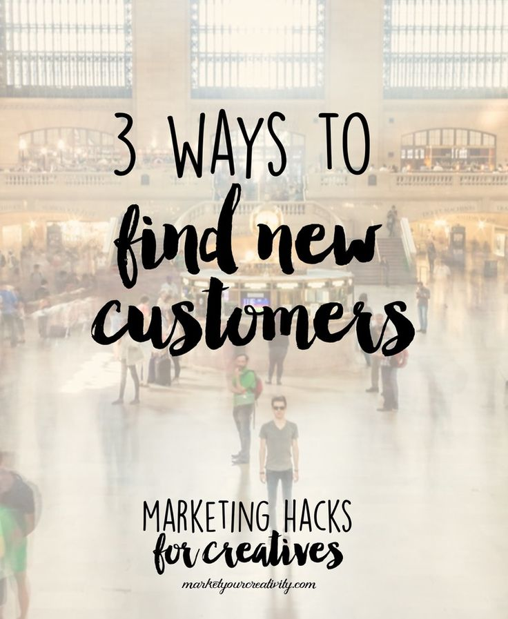 3 ways to find new customers for your Etsy or creative business