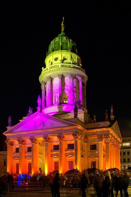 Berlin Festival of Lights 2012: Französischer Dom | Flickr - Photo Sharing!