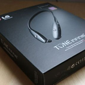 New LG TONE Infinim HBS900 Bluetooth Wireless Headset Neckband - Free Shipping! by Facetious on Opensky
