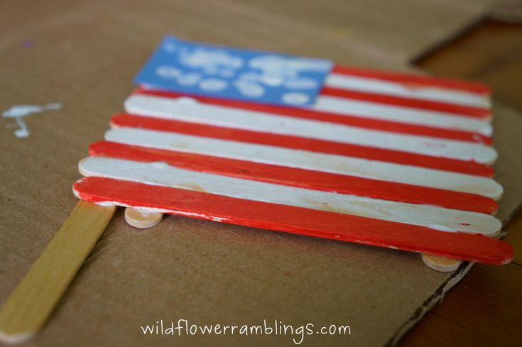 4th of july banner craft