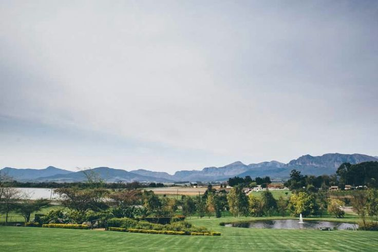 Beautiful Paarl valley in Cape Town for a dream wedding