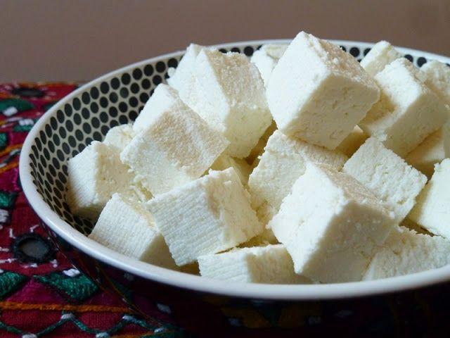Modernia intialaista: Paneer-juusto