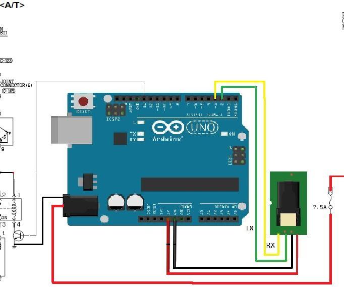 Biometric Arduino Engine Security System