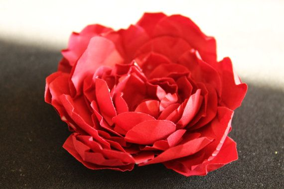 DIY paper flower kit shapes cutout
