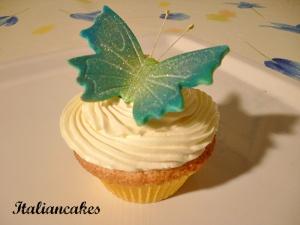 sugar paste butterfly