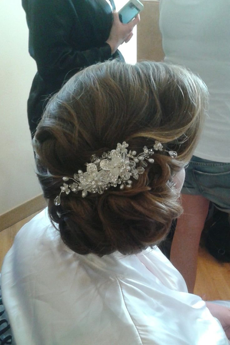 Wedding hair in Frascati, Rome by Janita  http://www.hairmakeupnails-rome.com/