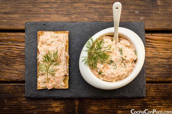 Recetas Navidad - Pate de gambas y salmon - Receta paso a paso