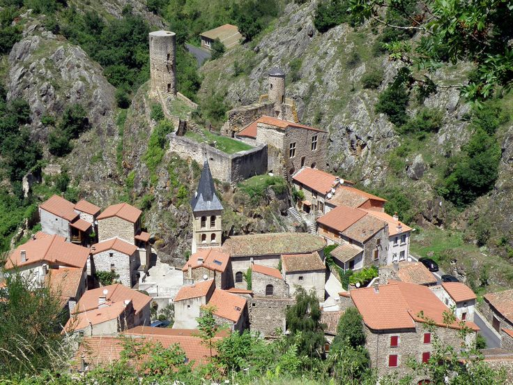 Saint-Floret, Puy-de-Dome, Auvergne