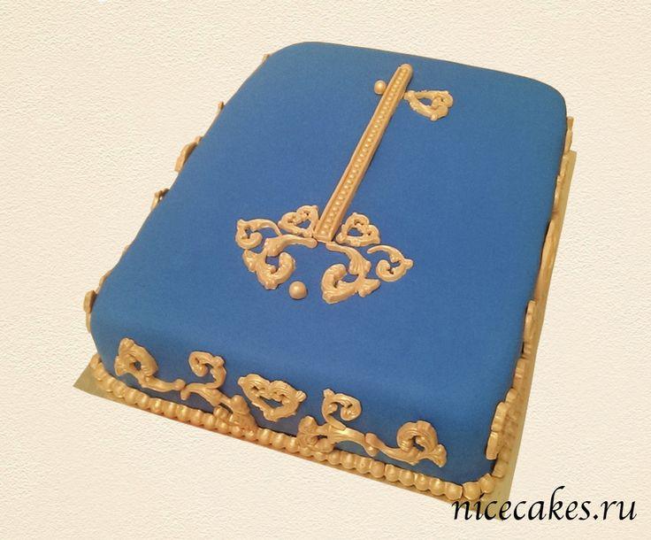 Золотой ключик торт купить