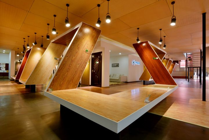 H3 Experience Center by Nota Design Group, Kunming   China exhibit design