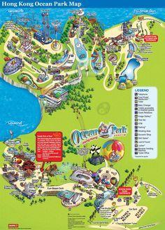 Victoria Peak - Hong Kong Tourist Maps