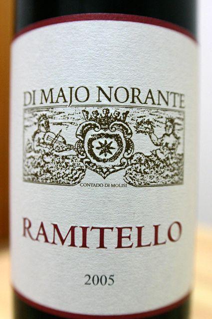 DI MAJO NORANTE RAMITELLO 2005 BIFERNO ROSSO 1