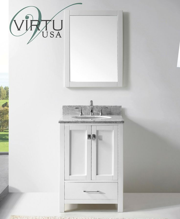 Small bathroom vanities discount bathroom vanities for Bathroom vanity decor pinterest