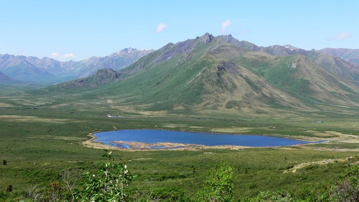Dempster Highway-alpine climate