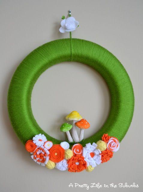 spring wreath #spring