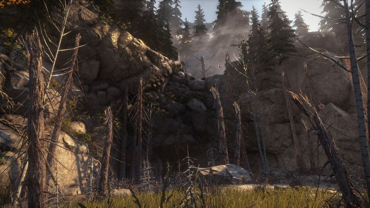 ArtStation - Rise of The Tomb Raider - Geothermal Valley, Dannie Carlone