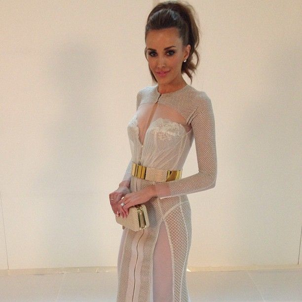 Major girl crush, she does no wrong. Rebecca Judd in J'aton Couture