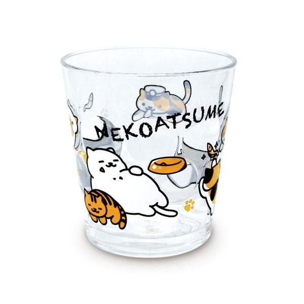 Collect the kitties! Now you can gather the cats in real life with these Neko Atsume products. Cute cup is decorated with various cats from the game.