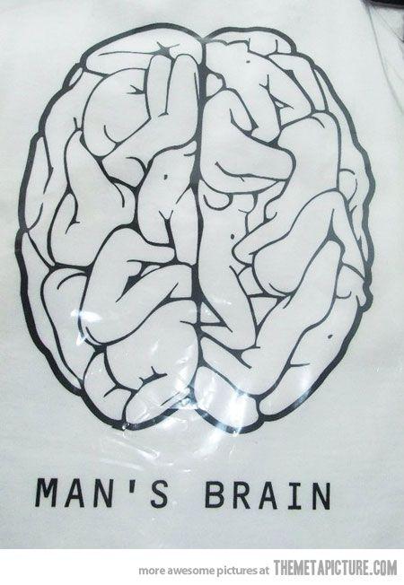 A man's brain
