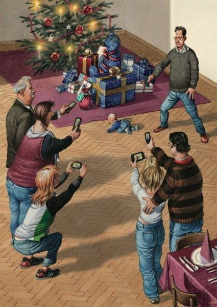 mobile weihnachten warheit pinterest satire. Black Bedroom Furniture Sets. Home Design Ideas