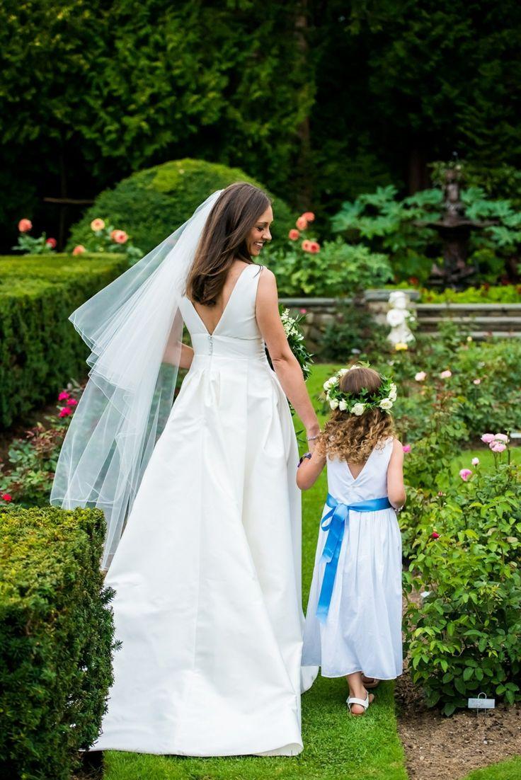Eine kleine Hochzeitsfeier im eigenen Garten organisieren