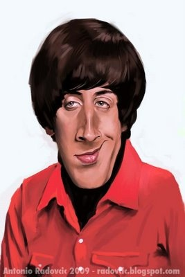 "Howard Wolowitz ""Big Bang Theory"""