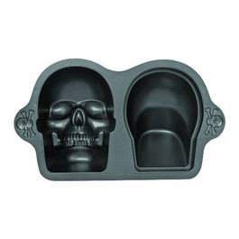 3D Skull Pan eclectic cookware and bakeware