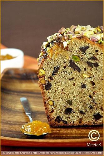 Spiced Chocolate Orange Bread | chocolate recipes | Pinterest
