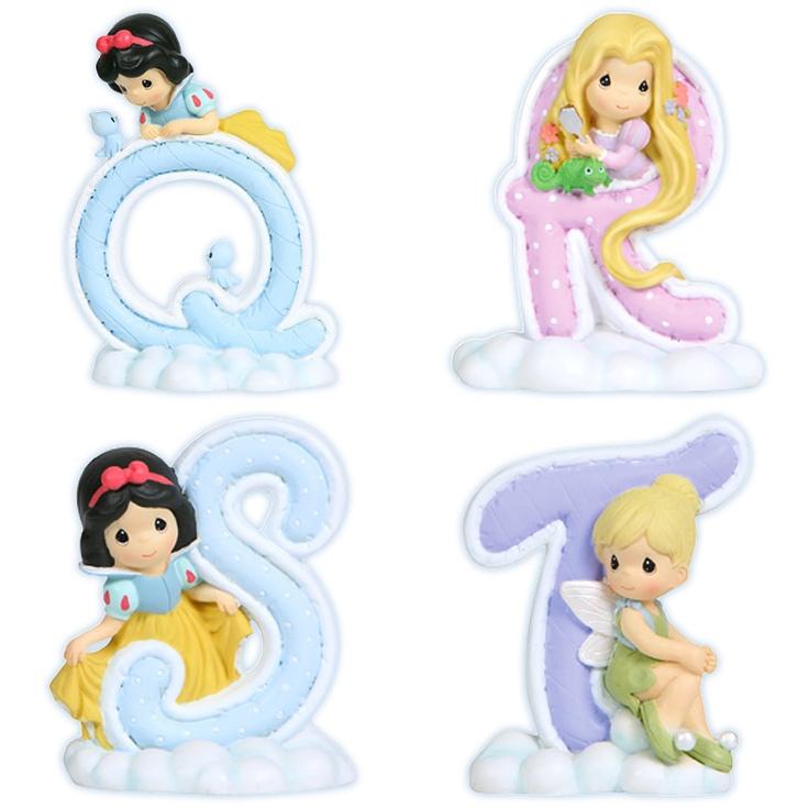 Precious Moments Disney Alphabet Q-T