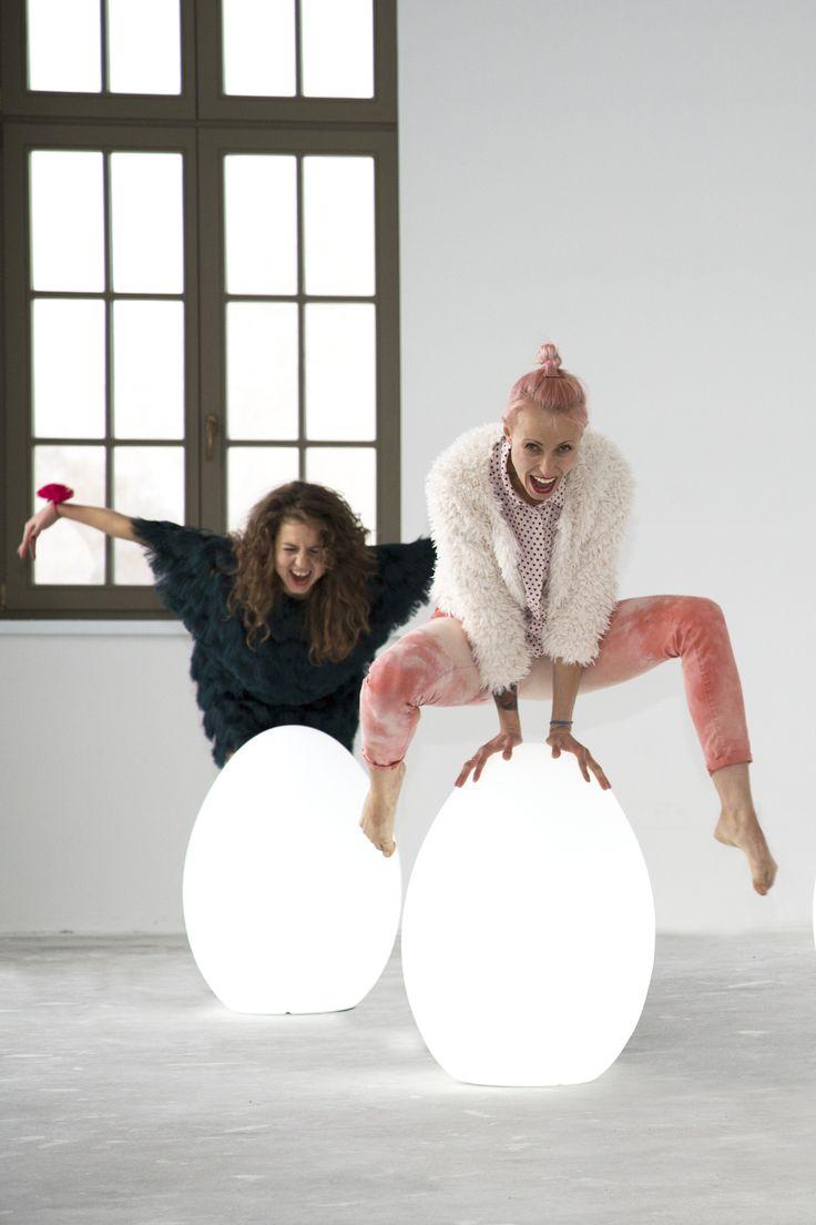 So eggcited! | Design Blog Make It Home I egg shaped design lamps nunoni