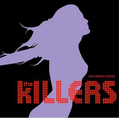 The Killers - Mr Brightside...probably my favorite cover art for an album