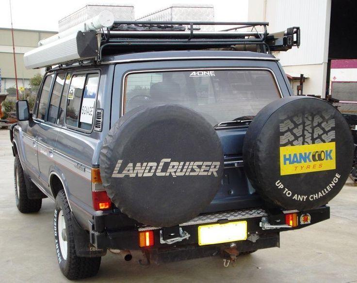 Landcruiser 60 Twin Wheel Carrier