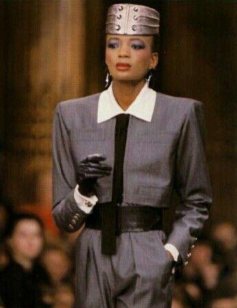 1985 -Yves Saint Laurent Couture show
