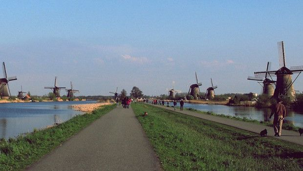 Cosa vedere in Olanda | Mulini a vento | Kinderdijk vicino Rotterdam