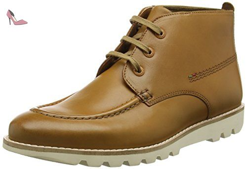 Kickers Kymbo Mocc, Bottes homme - Marron - Marron (clair), 47 - Chaussures kickers (*Partner-Link)