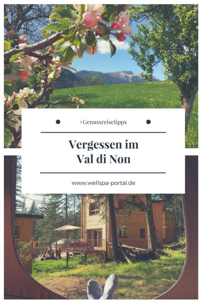 Frühlingsangefang im Val di Non. Entspannun, Genuss und pure Ruhe auf der Cabriotour von Südtirol ins Trentino. Zeit zu Zweit im Val di Non