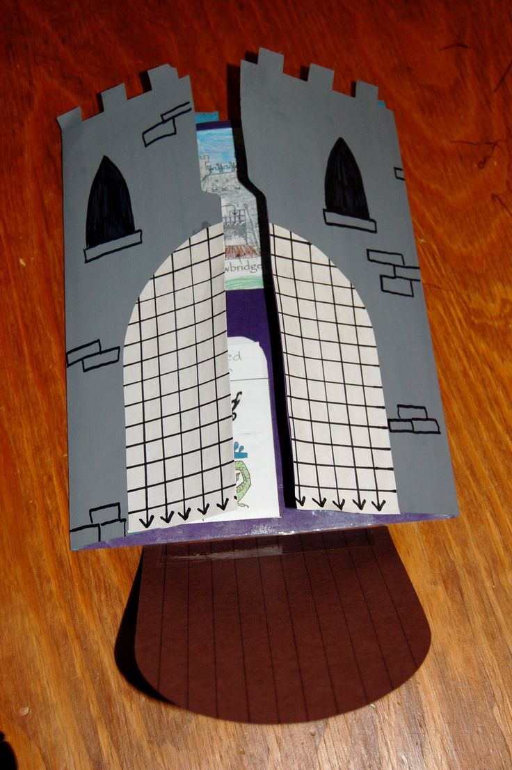 Little White Schoolhouse: castle lap book