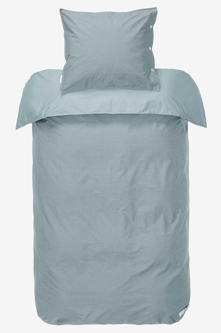 Percale PERCALE påslakanset 2 delar - Grå - Sängkläder - Jotex.se