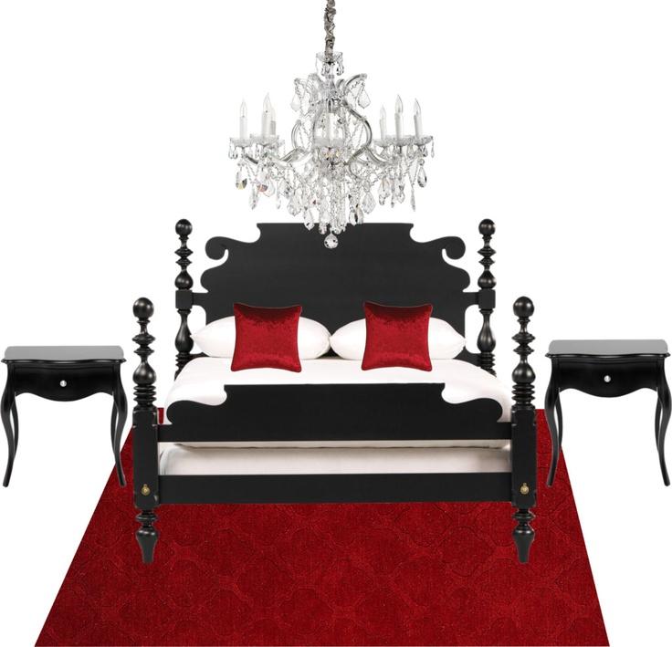 Red Bed Bedroom Black Ops Bedroom Ideas Bedroom Colour Scheme Ideas John Deere Bedroom Furniture: 50 Best Images About Red And Black Bedding On Pinterest