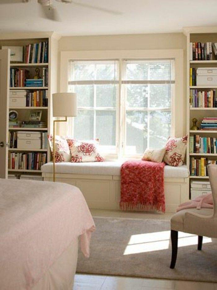 Sitzecke Wohnzimmer Fensterbank Gemütlich | WG Einrichtung | Pinterest |  Teas And House