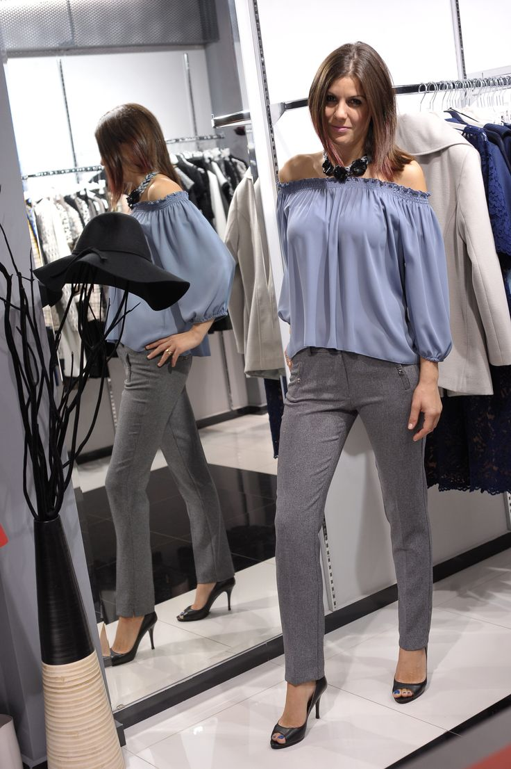 Blouse & Trousers Lui e Lei collection Fall/Winter '14-2015